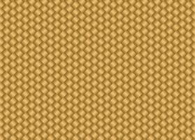 textura de tapete de bambu dourado vetor