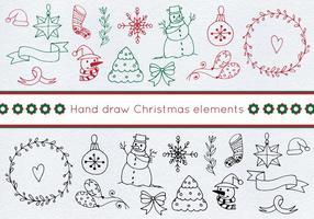 Free Christmas Christmas Set vetor