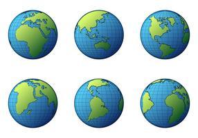 Vetor livre de globus