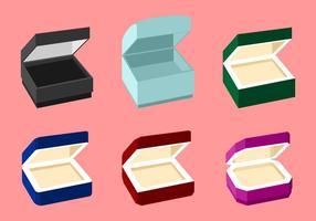 Ring box free vector
