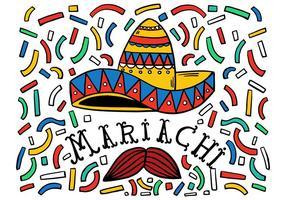 Fundo de Mariachi grátis vetor