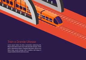Fundo TGV vetor
