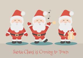 Ilustração vetorial de Papai Noel