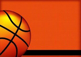 Fundo de vetor de textura de basquete
