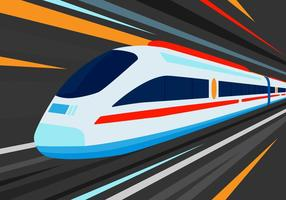 Ilustração vetorial TGV grátis vetor