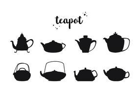 Livre Teapot Vector