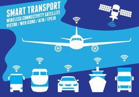 Sistema de transporte inteligente vetor