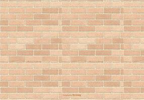 Fundo de Brown Brick Pattern