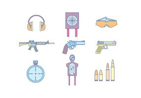 Guns & Shooting Equipment vetor