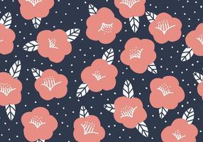 Camélia rosa vetor