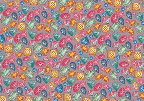 Rhinestone Background Colorido Vector