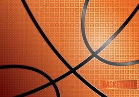Textura do basquete vetor