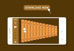 Download livre do marimba app vetor