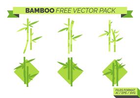 Pacote de vetores grátis em bambu