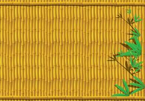Fundo de bambu vetor