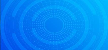 banner radial com ponto azul vetor