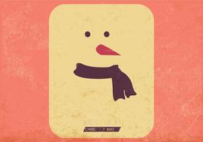 Vetor de cartão de jogo gelado