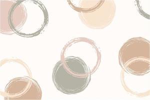 desenho de padrão abstrato com formas orgânicas