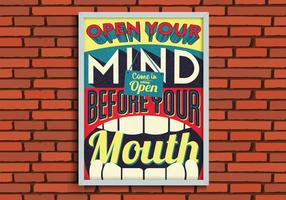 Abra seu vetor da mente