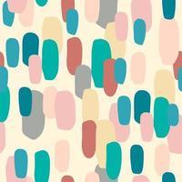 padrão sem emenda abstrato com manchas coloridas vetor