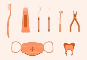 Vetor dentista grátis