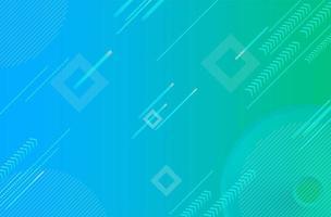 fundo digital gradiente abstrato azul verde vetor