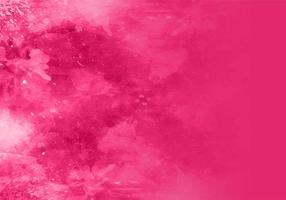 Vetor de fundo de aquarela rosa vetor livre