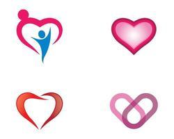 conjunto de ícones de amor vetor