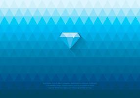 Fundo de Diamante de Rhinestone Azul vetor