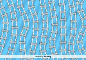 Fundo do vetor da escada de corda