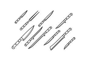 Vetor de faca grátis