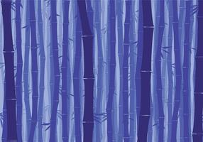 Fundo de bambu Noite Vector grátis