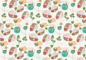 Taco Vector Pattern