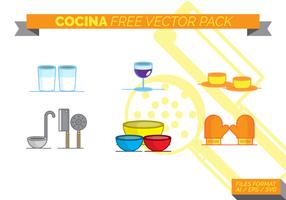 Cocina gratuito Pacote Vector