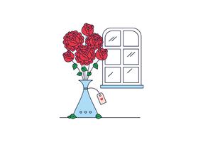 Vector livre Rosas