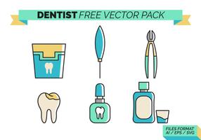 Dentista gratuito Pacote Vector