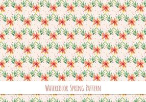 Vector padrão livre com tema floral