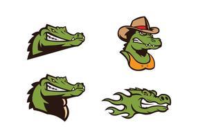 Vector livre Crocodile