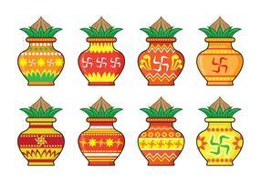 Ícones Kalash vetor