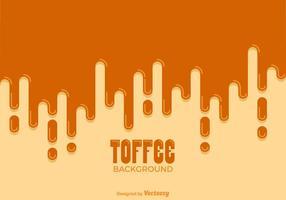 Background livre gotejamento Toffee Vector