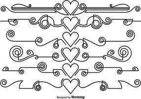 Vector Ornamental divisores