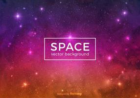 Fundo colorido do vetor do espaço