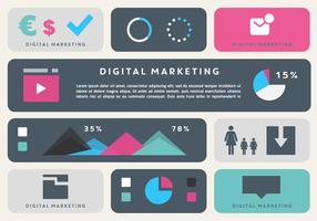 Livre Marketing Digital Business Elements Vector