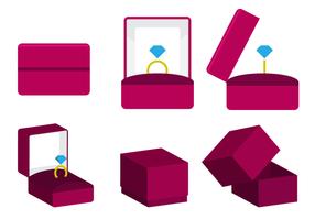 Free Vector Ring Box