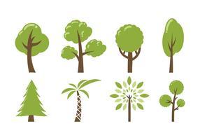 Árvore ícone Vector Pack