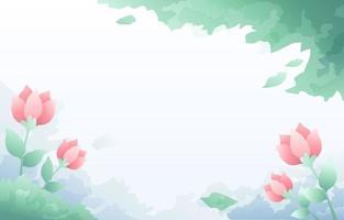 fundo rosa falso em aquarela vetor