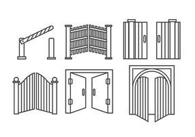 Abrir Vector Portão