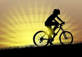 Livre de Ilustração Bicicleta Vector