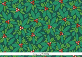 Pattern Vector Christmas Of Holly Berry