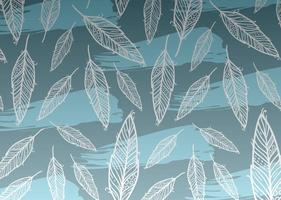 Feather Background Vector Pattern